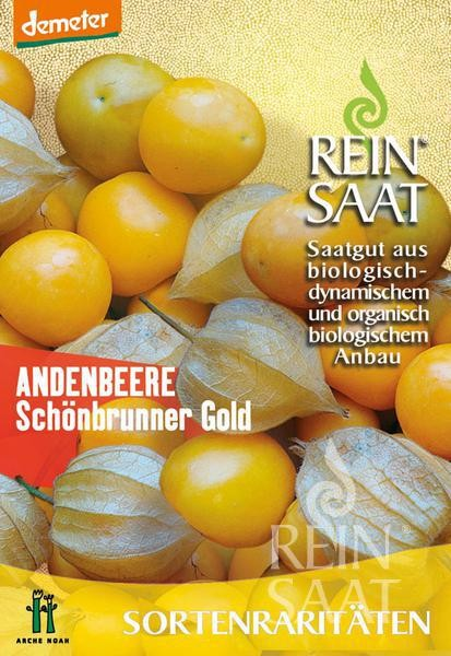 Andenbeere - Schönbrunner Gold - Bio