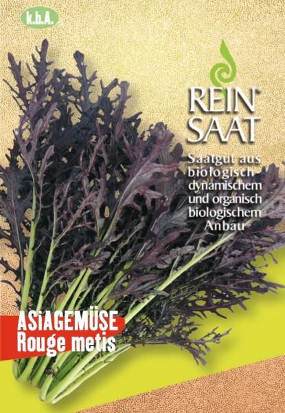 Asia-Gemüse - Rouge metis - Bio