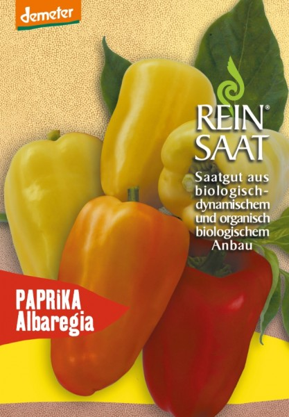 Paprika - Albaregia/Selektion Reinsaat - Bio