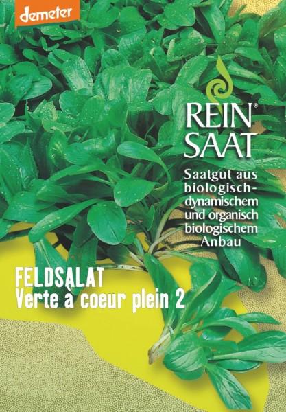 Feldsalat - Verte à coeur plein 2 - Bio