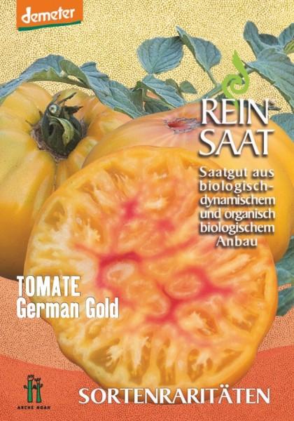 Tomate - German Gold - Bio
