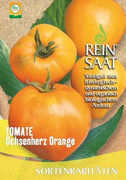 Tomate - Ochsenherz Orange - Bio