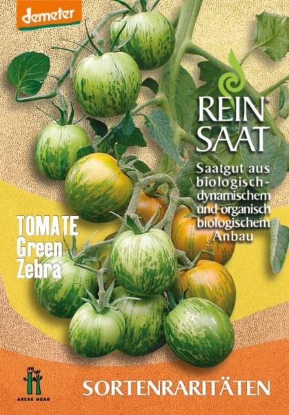 Tomate - Green Zebra - Bio