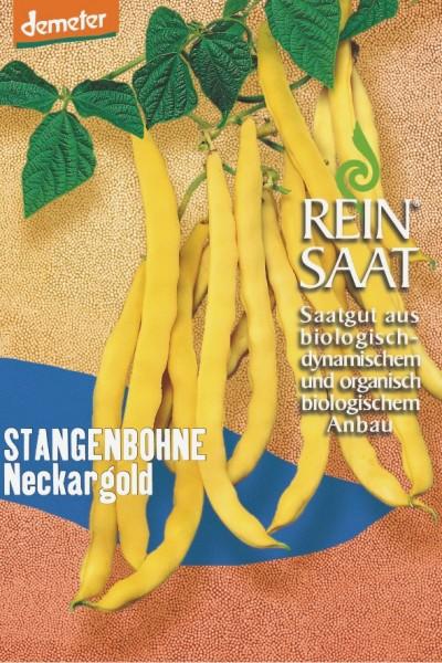 Stangenbohne - Neckargold - Bio