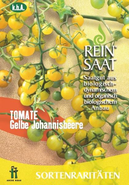 Tomate - Gelbe Johannisbeere - Bio