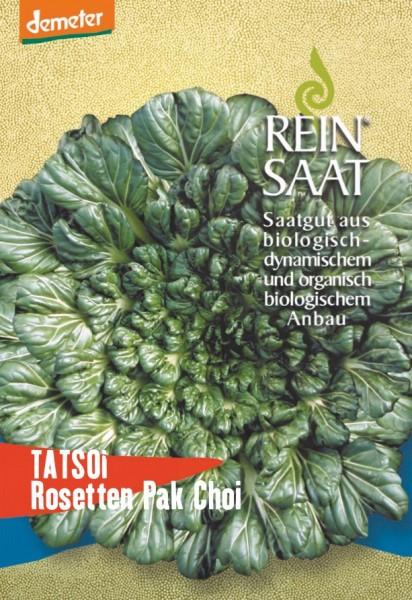 Asia-Gemüse - Tatsoi, Rosetten Pak Choi - Bio
