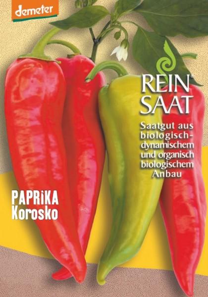Paprika - Korosko - Bio