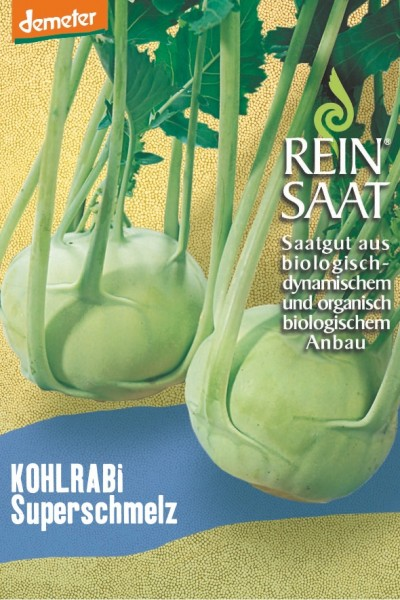 Kohlrabi - Superschmelz - Bio