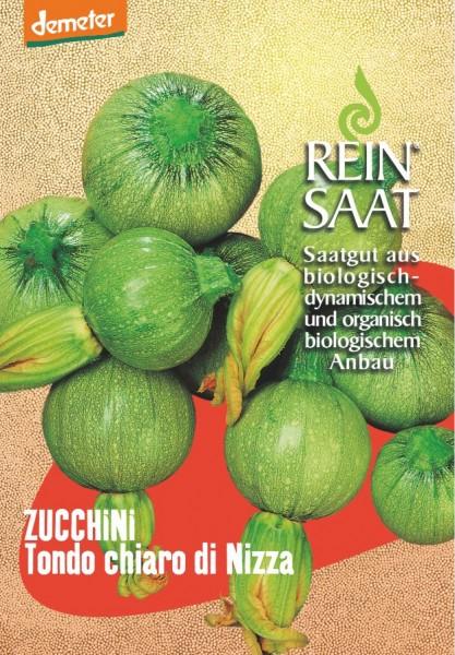 Zucchini - Tondo chiaro di Nizza - Bio