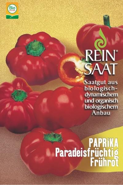 Paprika - Tomatenpaprika Paradeisfrüchtig Frührot - Bio