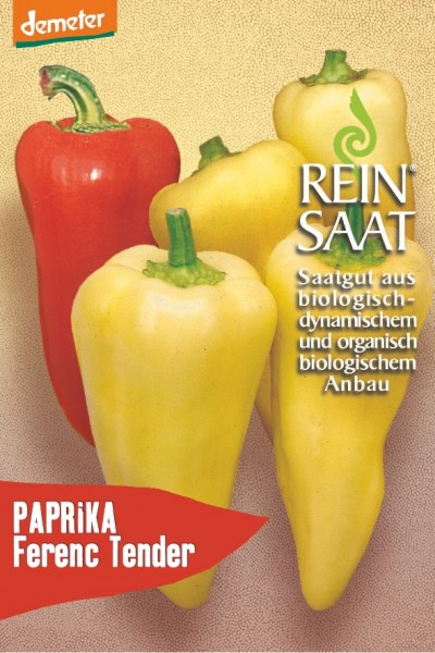 Paprika - Ferenc Tender - Bio