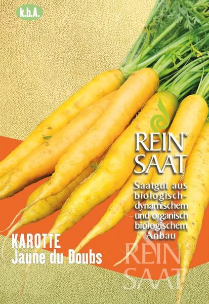 Karotte - Jaune du Doubs / Selektion ReinSaat - Bio